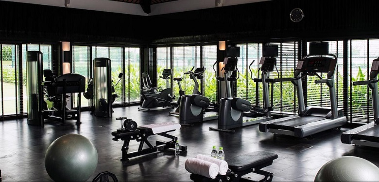 Gym tại The Coastal Hill