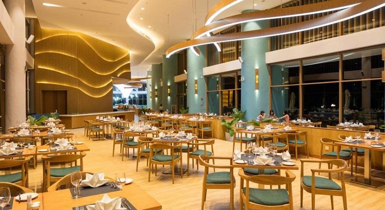 Khu sảnh ăn Buffer sáng dành cho du khách tại FLC Quy Nhơn