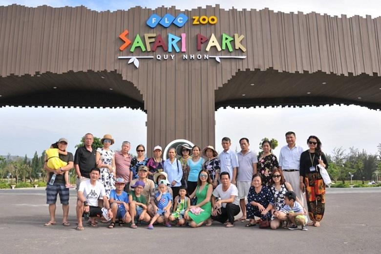 Vườn thú FLC Zoo Safari Park liền kề The Coastal Hill